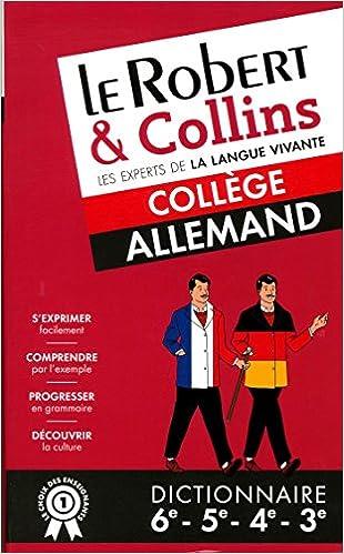 Dictionnaire Le Robert Collins College Allemand Pdf Telecharger Clernijobdasarea