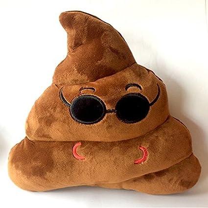 Amazon.com: NO:1 Emoji Smiley Emoticon Round Cushion Pillow ...