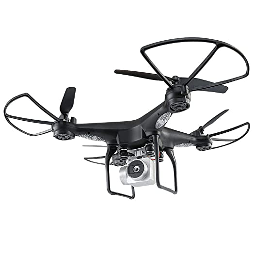 CQL Remoto Drone Ajustable Gran Angular 720P HD WiFi cámara Drone ...