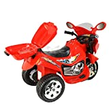 Ride On Motorcycle 6V Toy Battery Powered Electric 3 Wheel Power Bicyle For Kids