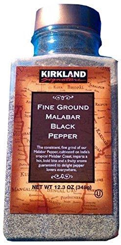 Kirkland Fine Ground Malabar Black Pepper, 12.3 Ounce