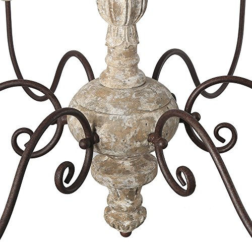 Rustic Chandelier Farmhouse Chandelier Shabby By Makariosdecor: LALUZ 6-Light Shabby Chic French Country Chandelier