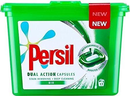 Persil Dual Action Bio - Cápsulas para lavado en lavadora (3 ...