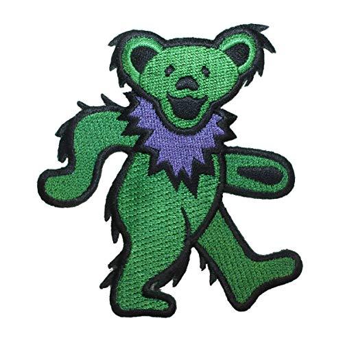 Dancing Green Bear - Application Dancing Bear Green Patch