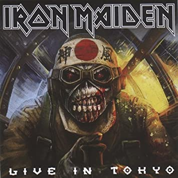 Iron Maiden NEW LIVE IN TOKYO 2016 2nd Night The Book Of Souls World Tour  2CD set Live