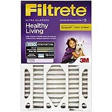 Filtrete Healthy Living Ultra Allergen Deep Pleat Filter, MPR 1550, 20-Inch x 25-Inch x 4-Inch (4-3/8-Inch Depth...