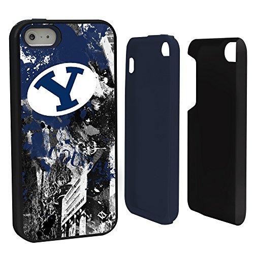 Guard Dog NCAA BYU Cougars Paulson Designs Hybrid Case for iPhone 5/5S, ()