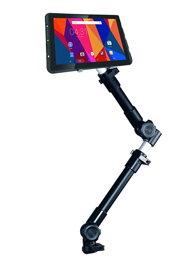 Infuu Holders Coche Universal Soporte para Tablet PC de 10 - 15 Pulgadas iPad Pro 12,9 Galaxy Note Pro XXL Netbook Cámara Auto Camión Estable Metal 002 de ...