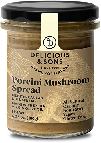 Delicious & Sons Organic Porcini Mushroom Spread 6.35 oz.…