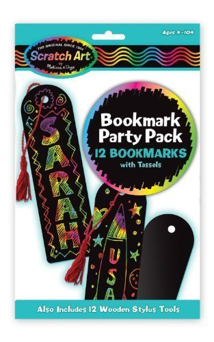 Bookmark: Scratch Art Party Pack + FREE Melissa & Doug Scratch Art Mini-Pad Bundle [59060] by Melissa & Doug