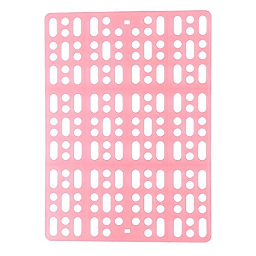 General Cat Cage Cage (BiuTeFang Pet Bolster Dog Bed Comfort Pet Cage Foot Cushion cat Dog General Plastic mesh Rabbit Foot mat)