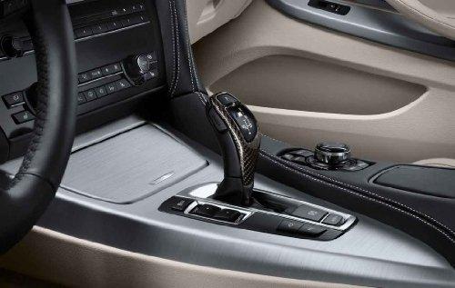 BMW OEM F01 F02 F10 F11 F25 F30 F07 F25 Performance Carbon Fiber Shift Knob Trim