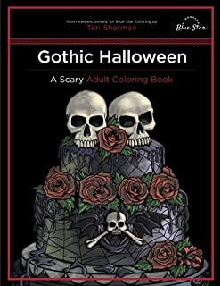 Amazon Com The Coloring Book For Goths The World S Most Depressing