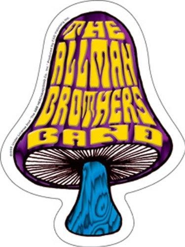 Licenses Products Allman Shroom Die Cut Sticker