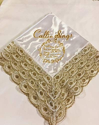 Women's Church Lap Scarves Customized Lace Handkerchief