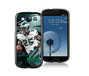 NFL Samsung Galaxy S3 Case, Philadelphia Eagles LeSean McCoy Rugger Galaxy S3 Cover, Fantastic Hard Case For iPhone Samsung Galaxy S3