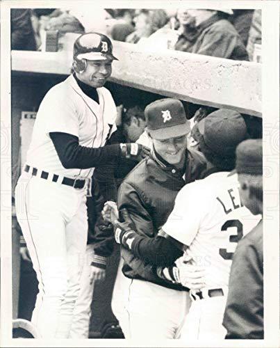 Vintage Photos 1986 Press Photo MLB Detroit Tigers First Baseman Darrell Evans - rkf18421