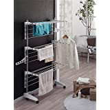 Indoor Folding Clothes Drying Rack Laundry Dryer Hanging Hanger Organizer(Item#251381)