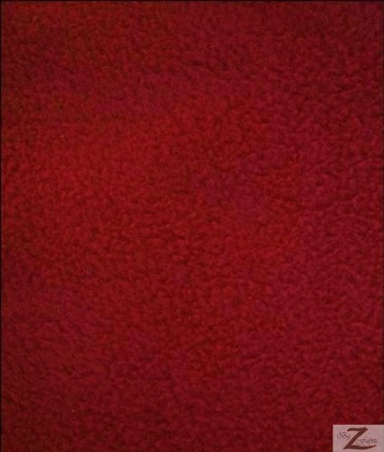 wine fleece fabric - 7