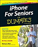 img - for iPhone For Seniors For Dummies book / textbook / text book