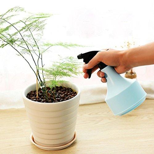 LtrottedJ Empty Spray Bottle ,Plastic Watering The Flowers Water Spray For Salon Plants (Blue)