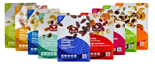 Mega Snack Pack, Over 15lbs of Dried Fruit, Trail Mixes, Nutsterz Spicy Peanuts, and Assorted Basse Nuts - Variety Pack of Superfoods and Healthy Snacks for Good Energy & Nutrition (27 Bags Total) by Basse (Image #1)