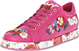 Dolce & Gabbana Kids Girls' Applique Sneaker, Fuchsia, 39 (US 8 Big Kid) M