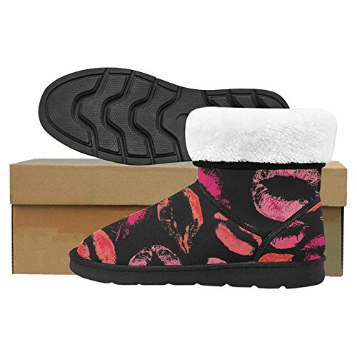 Scarponi Da Neve Womens Interestprint Stivali Invernali Comfort Dal Design Unico Multi 21