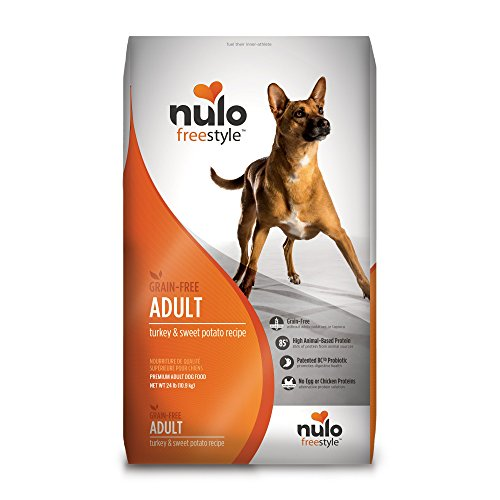 Nulo Adult Grain Free Dog Food: All Natural Dry Pet Food For Large And Small Breed Dogs (Turkey, 24Lb) For Sale