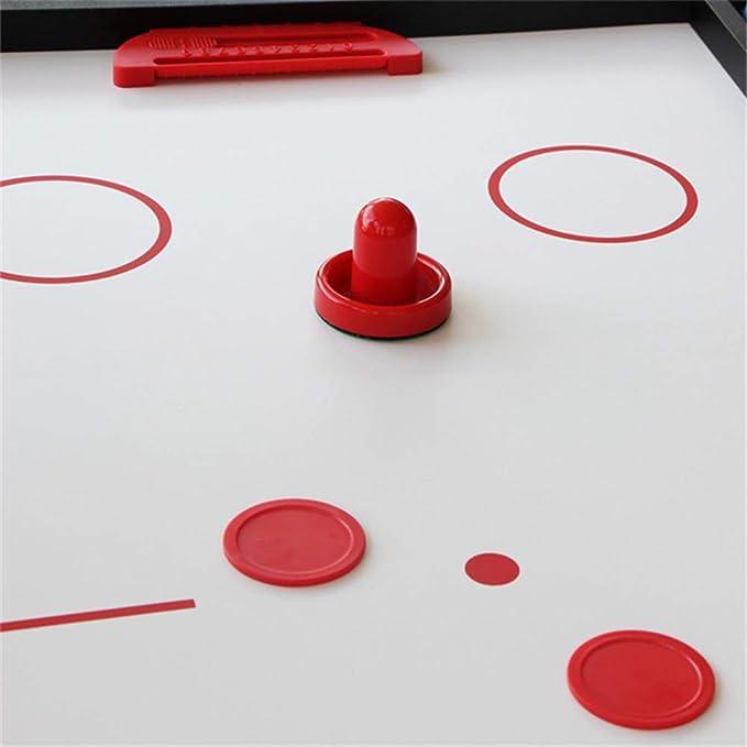 Lcyy-game Deluxe Plegable 4 en 1 Mesa de Juego Superior de múltiples Funciones de Mesa combinada Constante de Tenis (Ping Pong), Glide Hockey, futbolín, Pool Set para niños y niños Azul: Amazon.es: