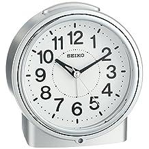 Seiko QHE117SLH Bedside Alarm Japanese Quartz Alarm Clock