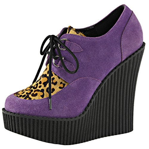 Demonia - Defining Alternative Footware Keilabsatz Plateau Pumps Creeper-304