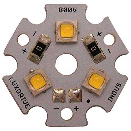 Cree Xlamp XP-E2 PC Amber 3-Up (Triple) LED Star