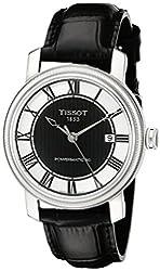 Tissot Men's T0974071605300 Bridgeport Analog Display Swiss Automatic Black Watch