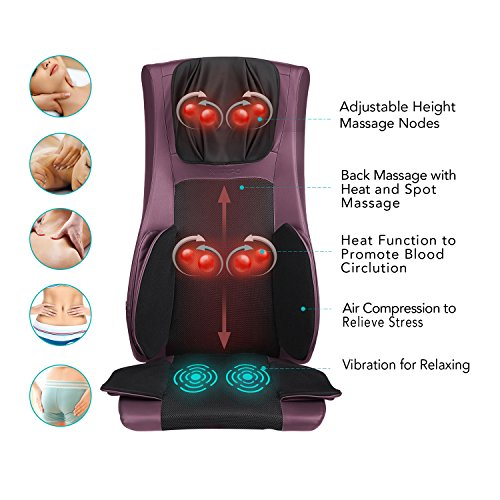 best back massager for a chair Naipo