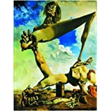 International Publishing Gold 2901N26085 'Soft Construction with Boiled Beans by Dali' Jigsaw Puzzle 1,500 Pieces