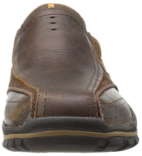 Skechers VorlezConven Herren Sneakers Dark Brown