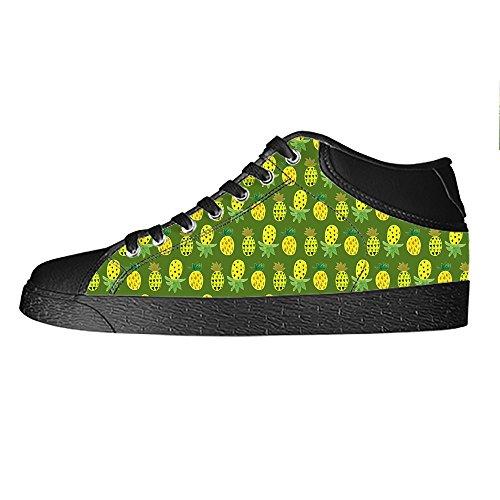 Alto Scarpe Custom Canvas I Fumetto In Sopra Delle Ananas Ginnastica Di Da Lacci Men's Tela Shoes Le PrxzFPqI
