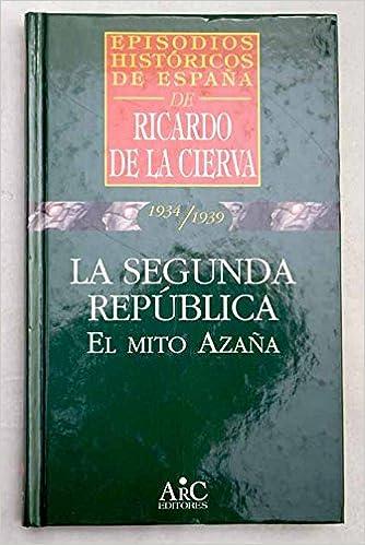 LA SEGUNDA REPUBLICA. EL MITO DE AZAÑA. Episodios Históricos de ...