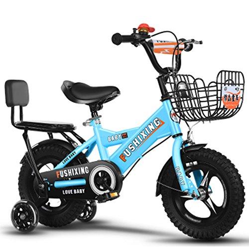 クリエイティブ自転車、少年の自転車の少年の自転車の自転車の自転車の衝撃の安全自転車の子供の自転車の長さの削減88-121CM (色 : 青, サイズ さいず : 115CM) B07D2FHK3P 115CM|青 青 115CM