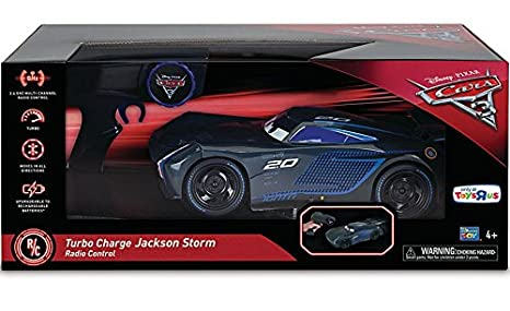 Disney Pixar Cars 3 Radio Control Car - Turbo Charge Jackson Storm 2.4 GHz