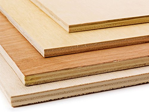 Builder Merchant Marine Plywood 9mm | 610mm x 300mm (2ft x 1ft), Wood, 9mm x 610mm x 300mm