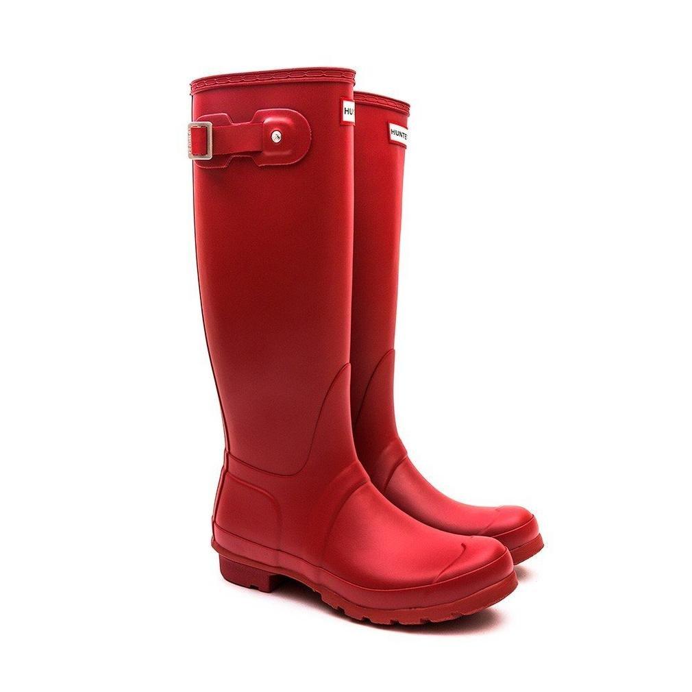 Hunter Women's Original Tall Wellington Boots, Red - 8 UK 42 EU 10 US by Hunter (Image #5)