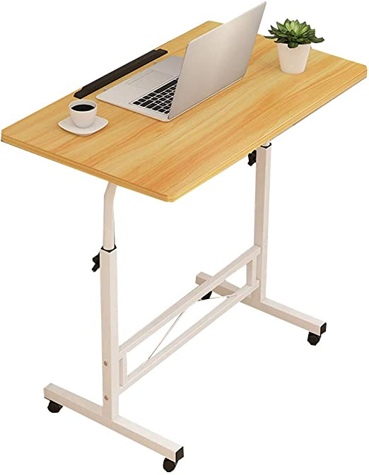 PENGJIE Mesa Final The End Table Mobile Stand Up Desk Altura ...