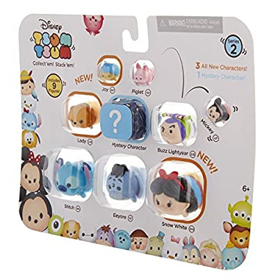 Disney Tsum Tsum 9 PacK Figures Series 2 Style #2: Toys & Games