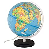 Columbus Voyage Light Up Globe for Kids with Animals, 10 Inch