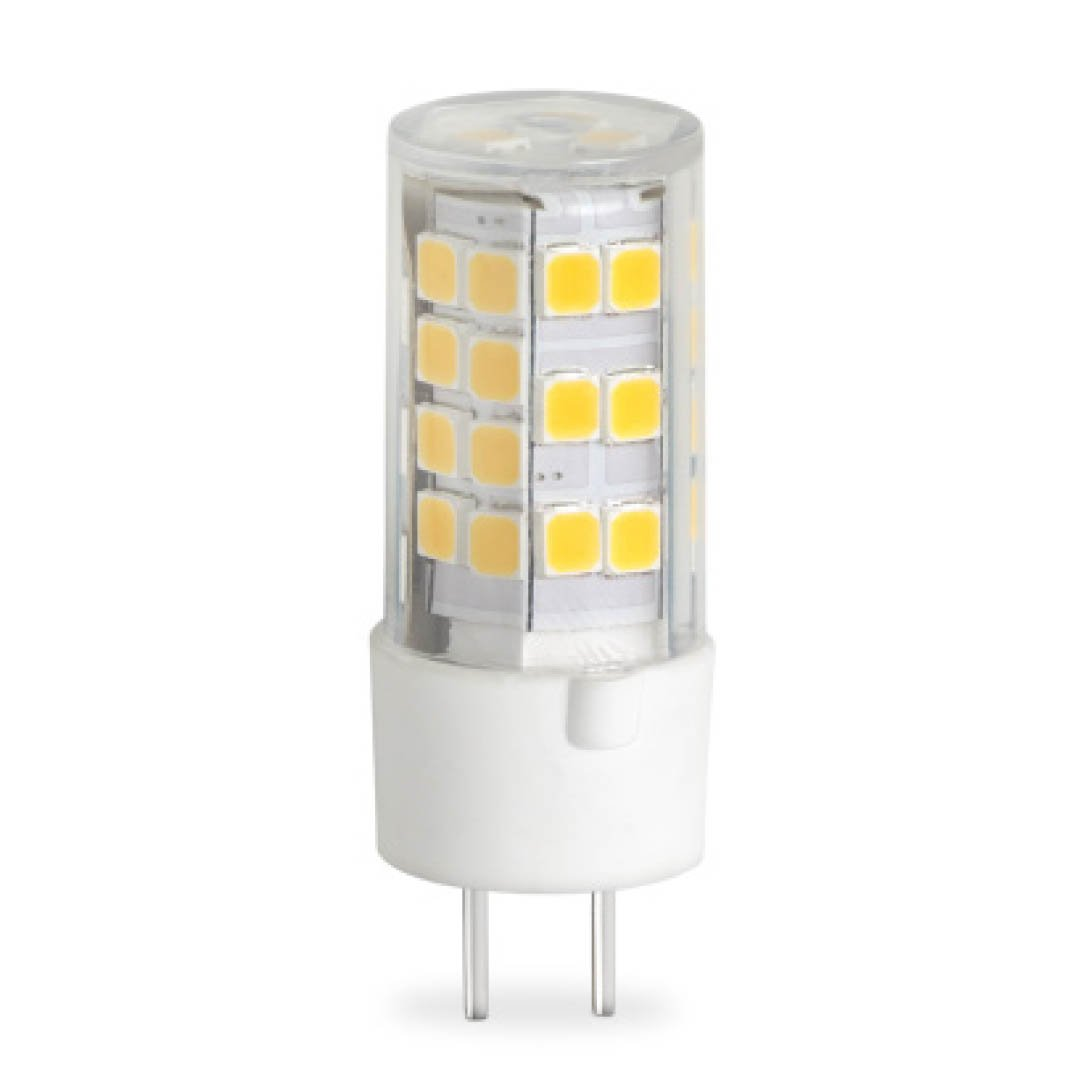 BULBRITE LED T4 BI-PIN (GY6.35) 4.5W DIMMABLE LIGHT BULB 2700K/WARM WHITE 35W INCANDESCENT EQUIVALENT (Pack of 2)