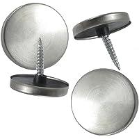 4 piezas Metal 28 mm diámetro espejo tapas