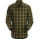 Arc'teryx  Men's Gryson Long Sleeve Shirt Dark Moss Centaur Large