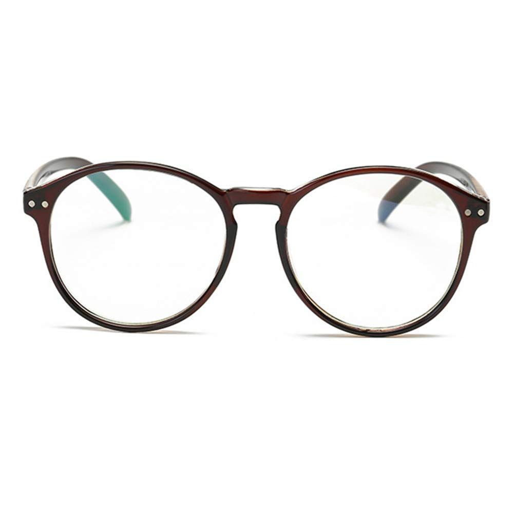 Occhiali Casual Fashion Montatura Basic Lenti Chiare Unisex Lenti Occhiali Trasparenti